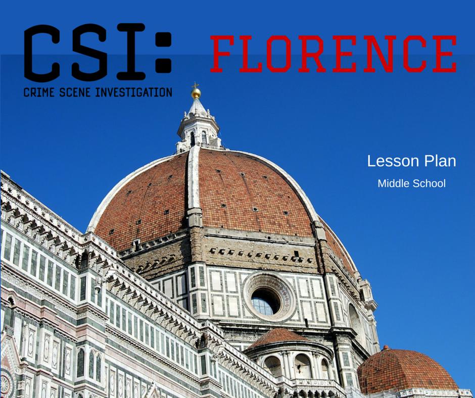 Csi florence a renaissance lesson plan fundafunda 39 s for Fundafunda