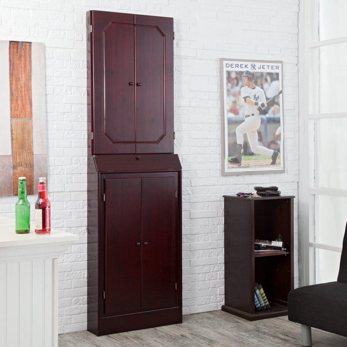 Upper Kitchen Cabinet Woodworking Plans: Worcester Arcade Style Dart Board Cabinet