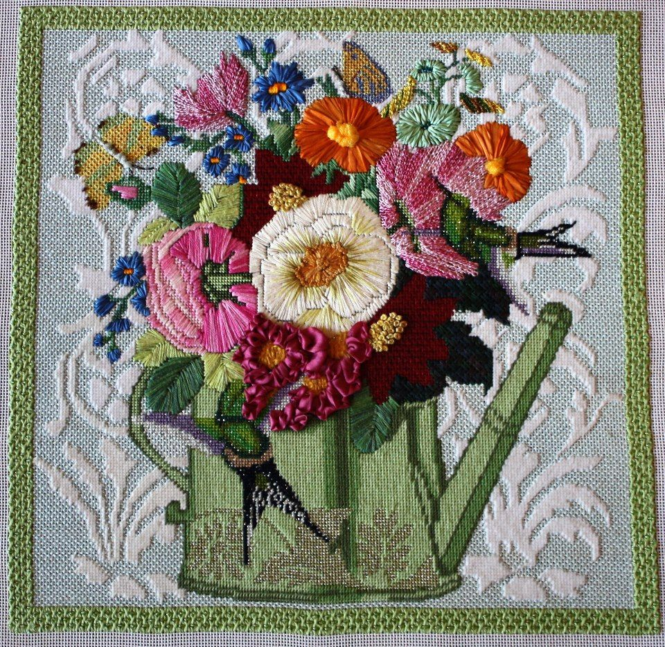 Melissa Shirley Canvas from A Stitch in Time Needlework