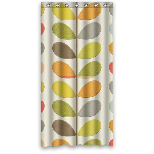 New Orla Kiely Stem Colourful Type 6 Waterproof Bathroom Custom Shower Curtain 36w X 72h Inches100 Polyester Amazoncouk Kitchen Home