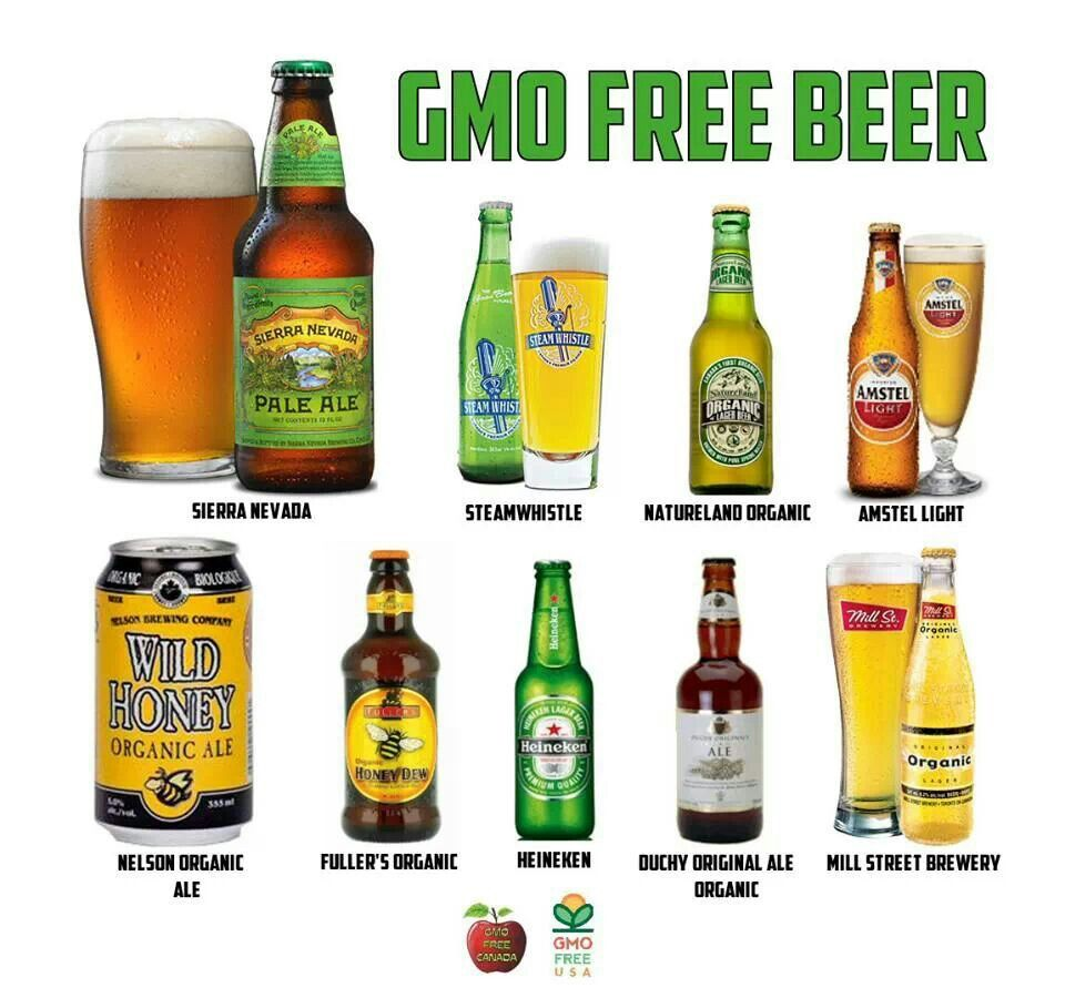 Gmo Free Beer Free Beer Gmo Facts Eating Organic