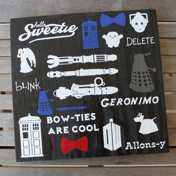 Doctor Who TARDIS SUBWAY art for sale