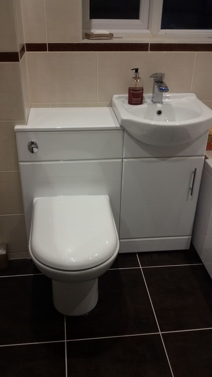 Combination Toilet And Basin Units Are A Cute Space Saving Idea For Small Bathrooms Space Saving Toilet Toilet And Basin Unit Toilet And Sink Unit