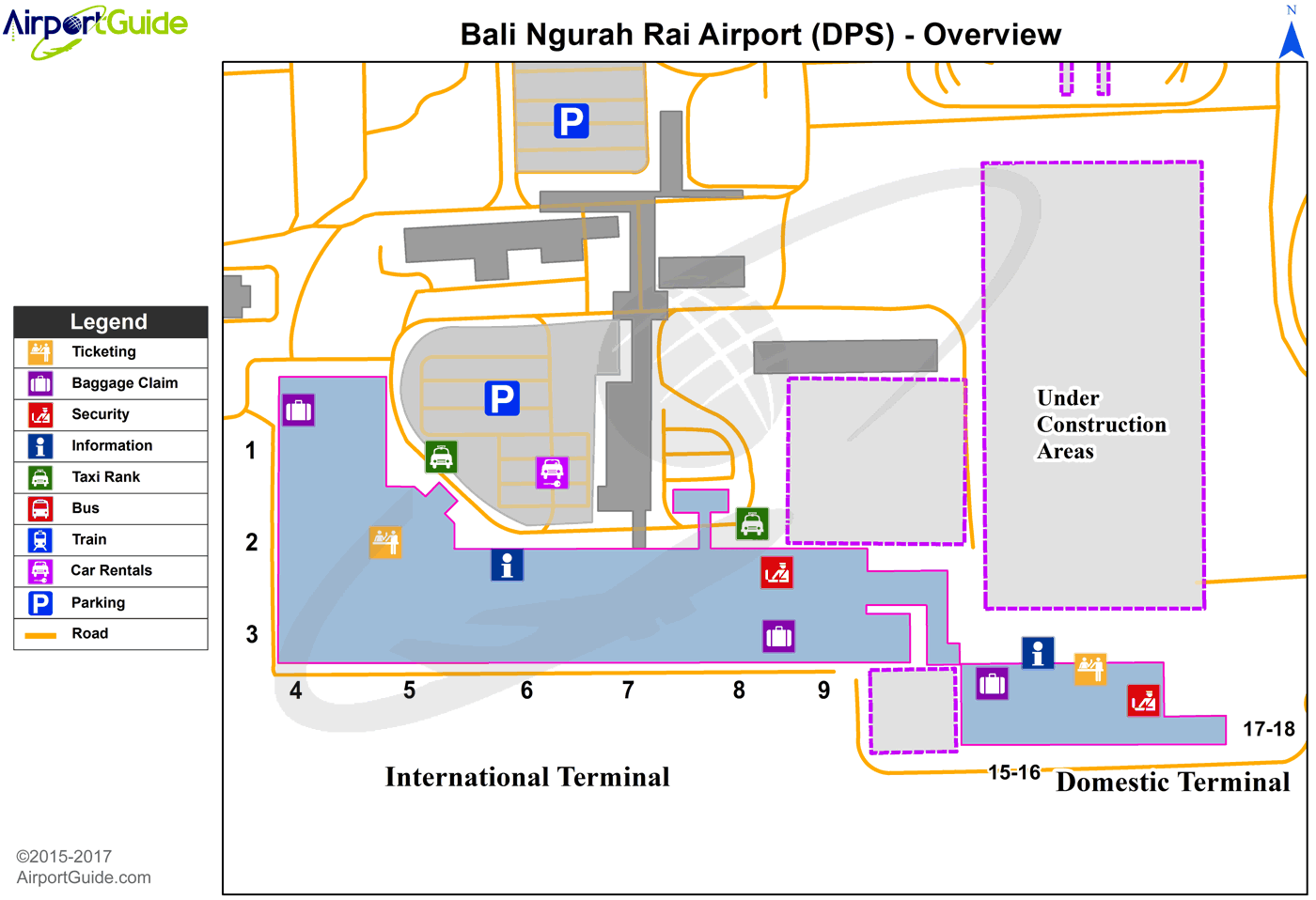 DenpasarBali Island Ngurah Rai Bali International DPS Airport