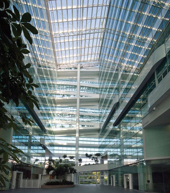Ground Floor, Singapore, Entrance
