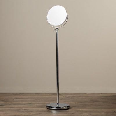 Wade Logan Calverton Floor Mirror, Adjustable Floor Stand Mirror