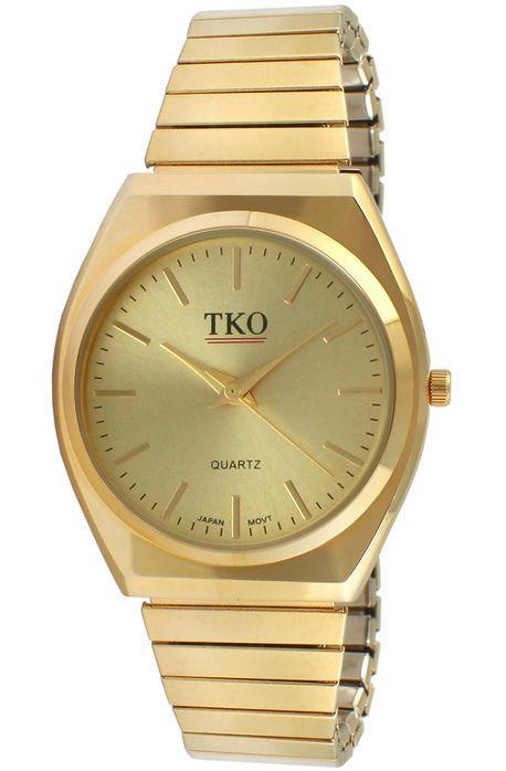 dba8ec30b20 TKO Watches The Easy Flex Metal Watch in Gold
