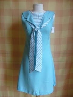 Lovely sailor dress from the fifties