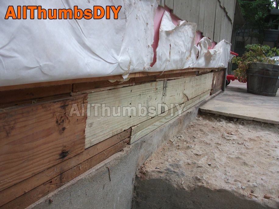 How I Replaced A Rotted Rim Joist And Sill Plates Part 4 Of 4