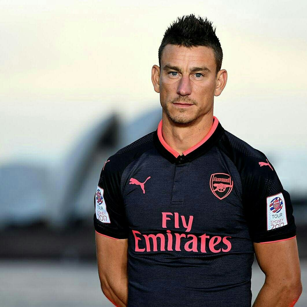 Laurent Koscielny Wear The New PUMA Arsenal 3rd Kit
