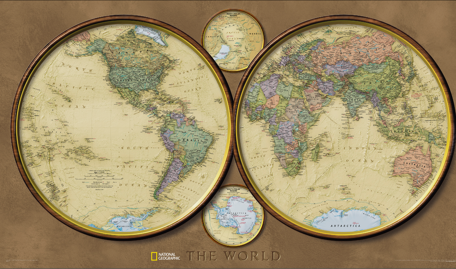 During The S And S National Geographic Designed