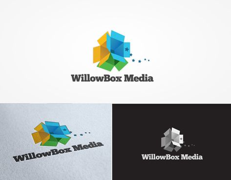 a logo for start up business Willowbox Media