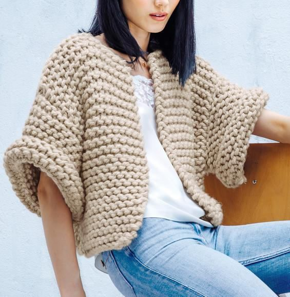 Photo of Knitted Jacket – Style.Topdekoration