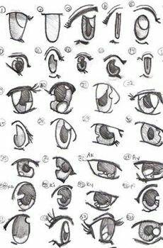 How To Draw Different Anime Eyes Manga Drawing Anime Drawings Manga Eyes