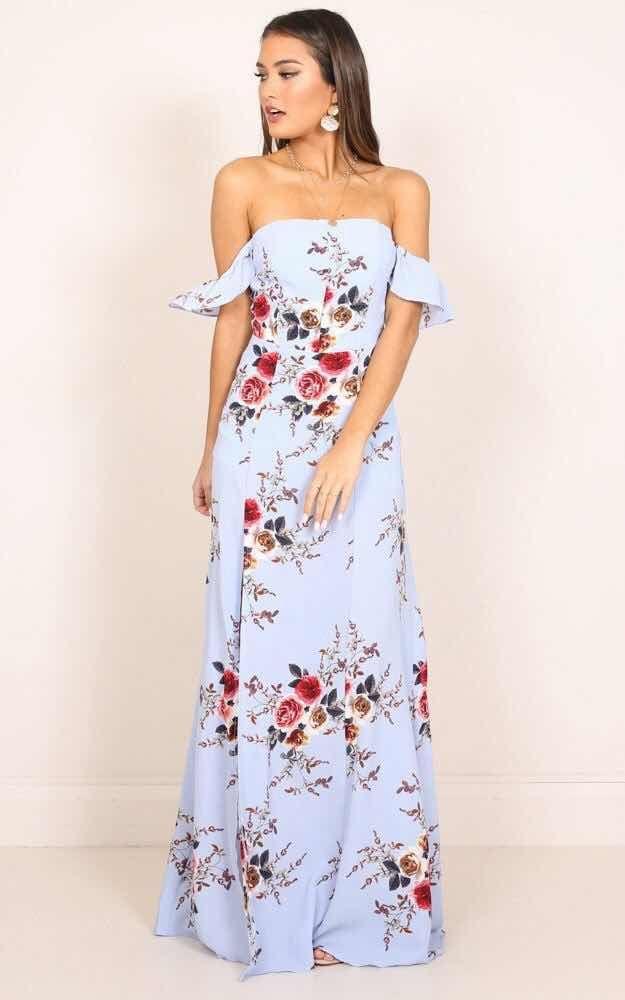 33 Vestidos Floreados De Moda 2018 Dresses Pinterest