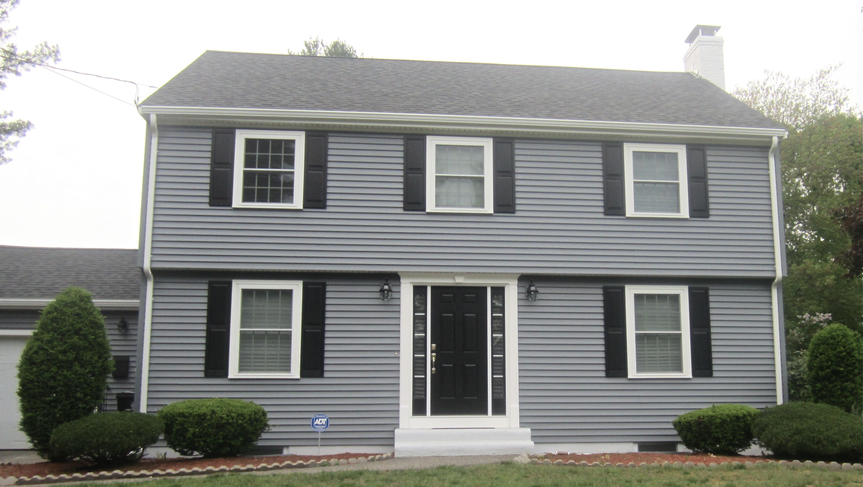 Certainteed Monogram Siding In Flagstone Siding Colors For Houses Black Doors Home Remodeling Contractors