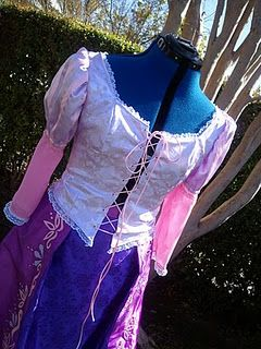 Rapunzel costume tutorial! & Rapunzel costume tutorial! | My Style | Pinterest | Rapunzel costume ...