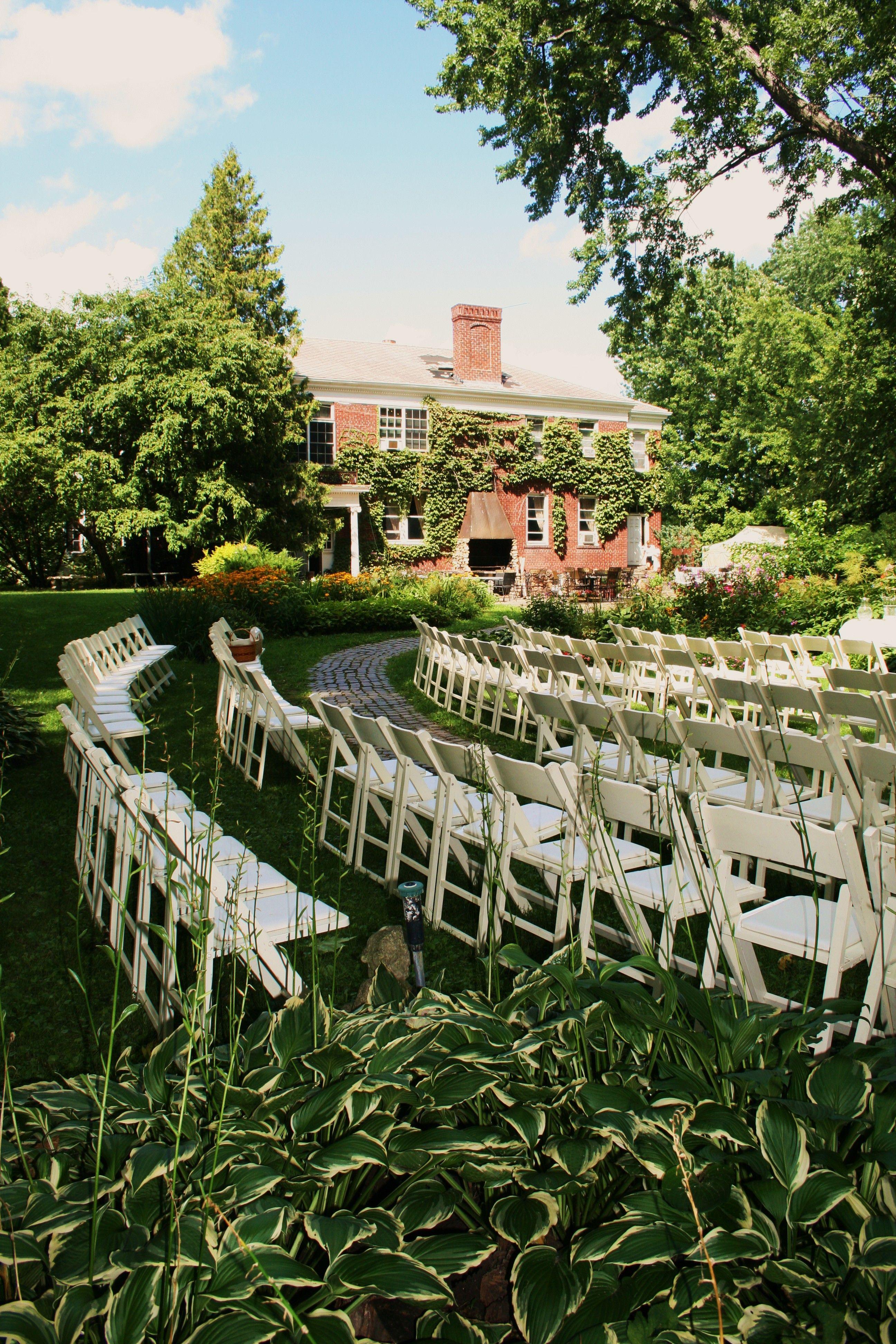 wedding reception minnetonkmn%0A Outdoor Garden Ceremony in Stillwater  MN