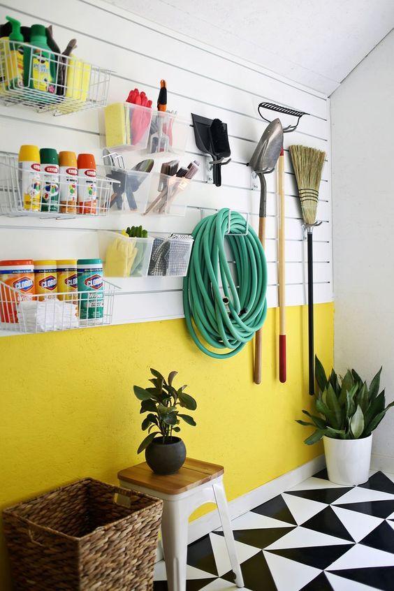Paredes amarelas: 60 inspirações para sua decoração | Garage ...