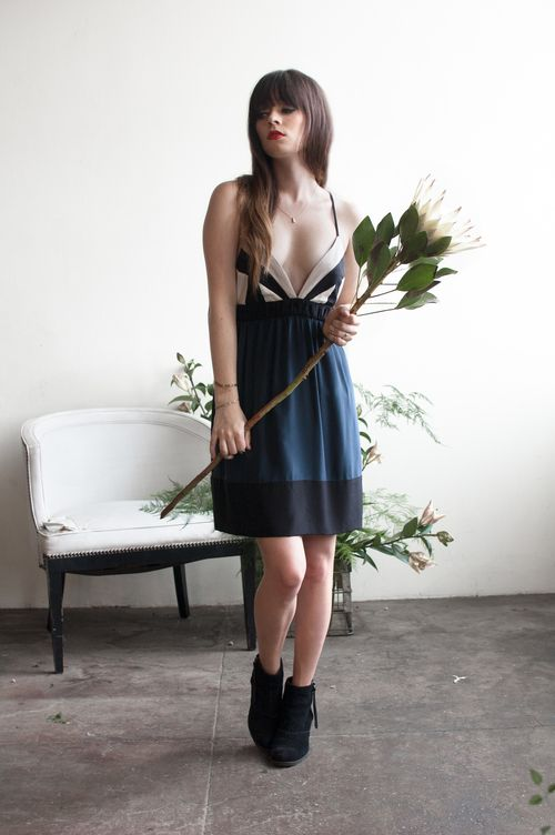 Spring 2014 Collection — Plante Rachel Marie of Jag Lever in our Protea Dress