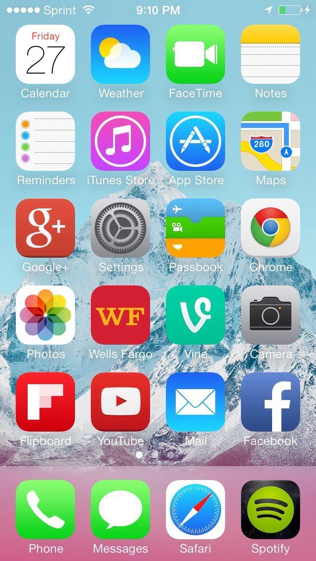 Lock An App On Ios 7 Ios 7 Lock Apps App