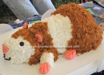 Coolest Hamster Cake Loaf Pan Sprouts And Homemade - Hamster birthday cake