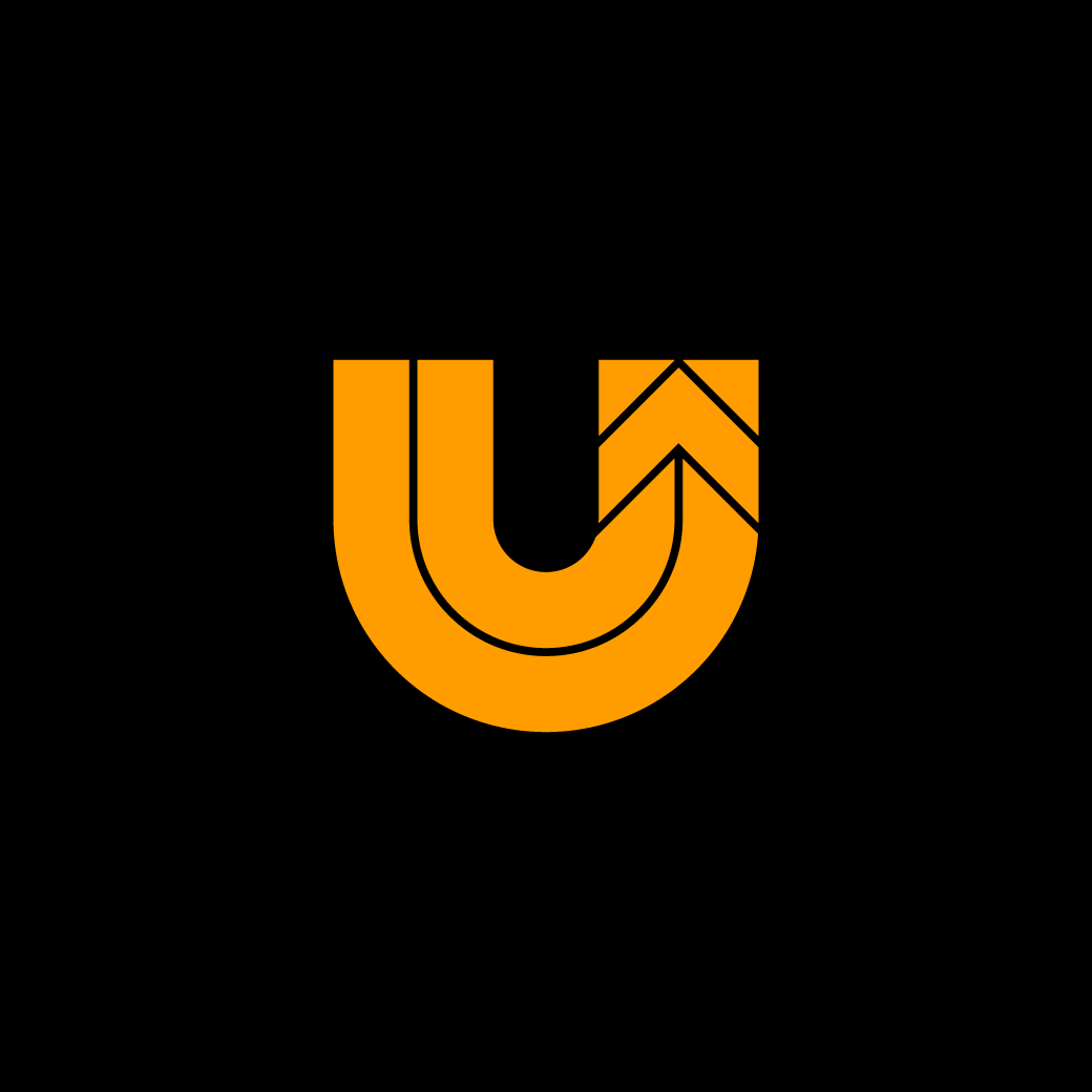 Thick Line U Logo Lettering Instagram Photo Photo And Video