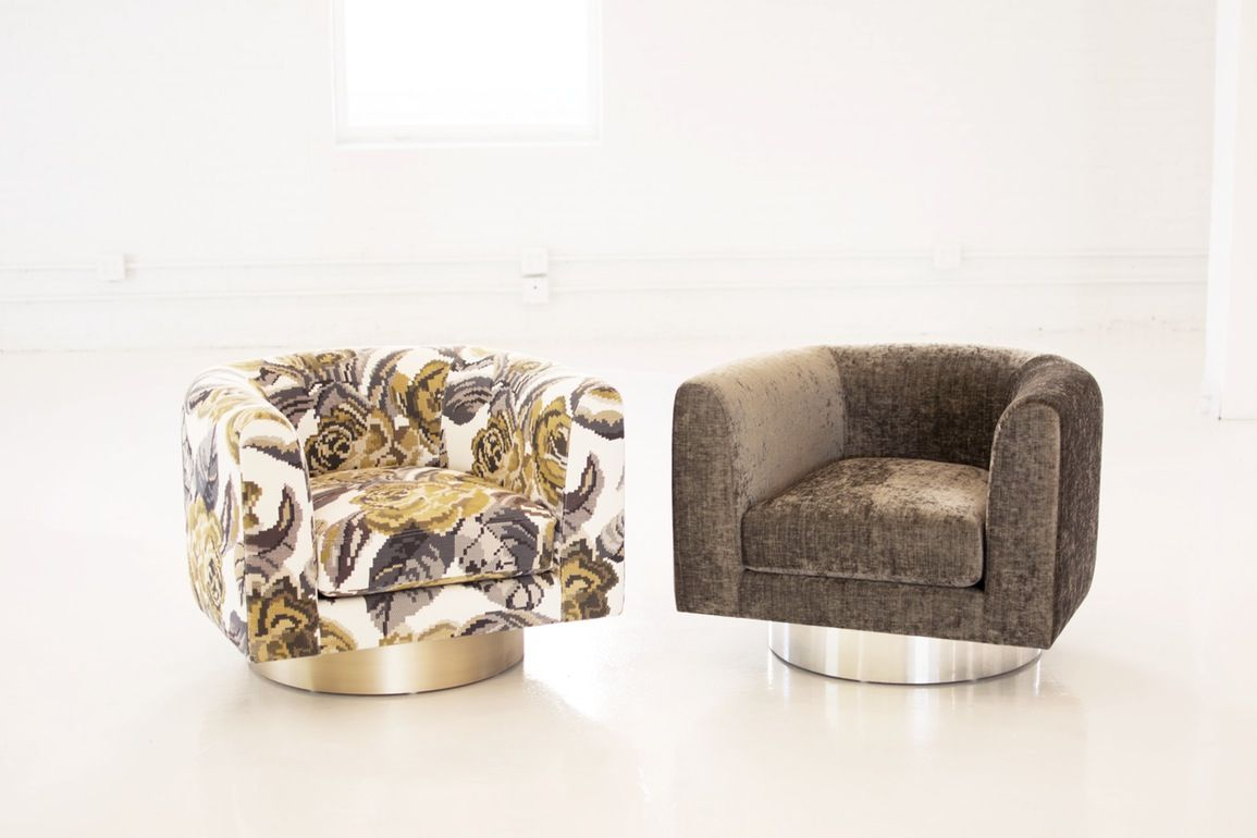 Buy Turbo Swivel By Richard Shemtov   Made To Order Designer Furniture From  Dering
