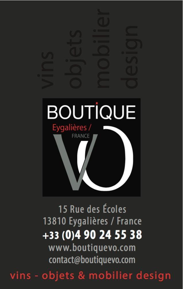 Cartes De Visite Pour La Boutique VO A Eygalieres Cv Odyance Journal