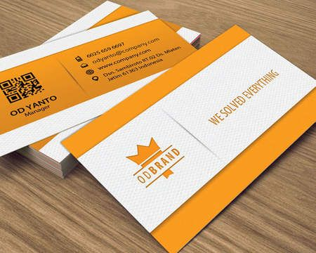 Creative And Professional Business Card Design By Yantodesign