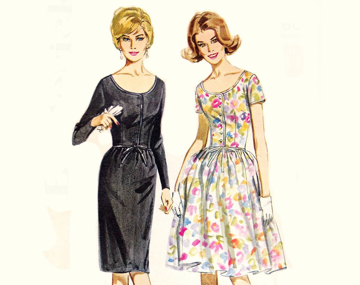 vogue wedding dress patterns grace kelly 1 | VINTAGE SEWING PATTERN ...