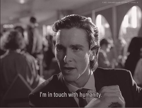 American Psycho Christian Bale American Psycho Quotes American Psycho Psycho Quotes