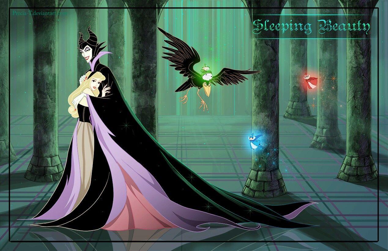 Aurora & Maleficent [as a friendly villain feat. Diablo ...