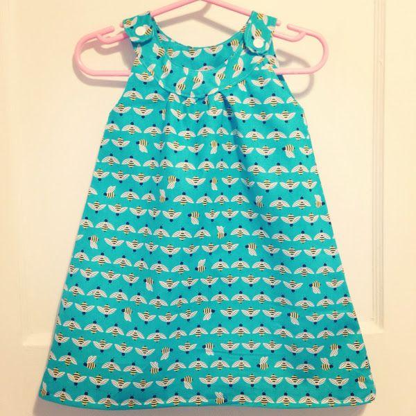 My Favourite (FREE) Baby Dress Pattern! | Baby Stahl | Pinterest ...