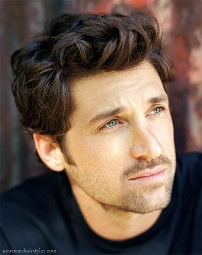 Patrick Dempsey Hairstyle Patrick Dempsey Cute Actors Mens Hairstyles
