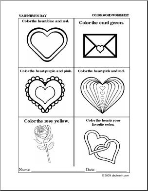 preschool valentine 39 s day coloring worksheets free helpful pre k work sheets for pre k kids. Black Bedroom Furniture Sets. Home Design Ideas
