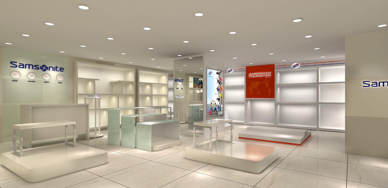 Nice design for Samsonite shopdesign retailer retaildesign