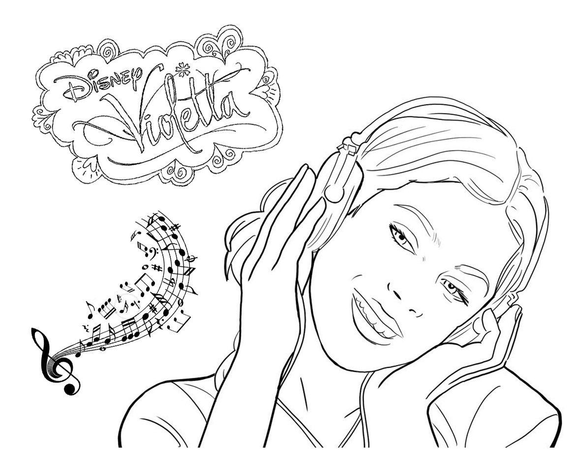 Ausmalbilder Disney Violetta : Pin By Peggy Proost On Violetta Pinterest