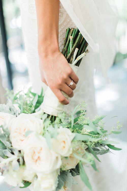 1909 Topanga Wedding in Malibu / Los Angeles California Wedding Photographer Loie Photography / Succulent Bouquet / Engagement Ring