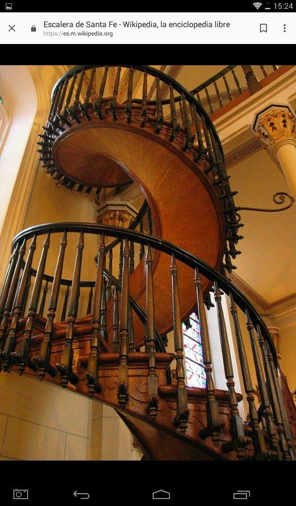 Best Escaleta De Loreto Staircase Design Loretto Chapel Stairs 400 x 300