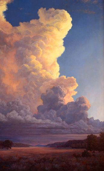 Reflected Glory By Phil Bob Borman Oil 58 X 36 14 500