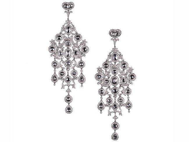 Large Diamond Chandelier Earrings Moira Fine Jewellery – Black Diamond Chandelier Earrings