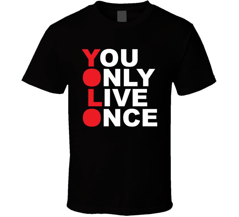 YOLO T Shirt Shirts, T shirt, Mens tops