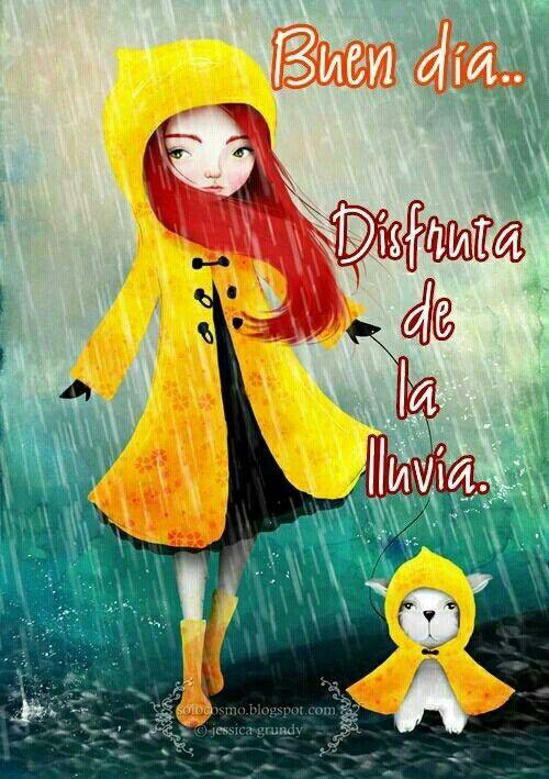 Pin De Thamara Correa En Buenos Días Pinterest Buen Día Lluvia