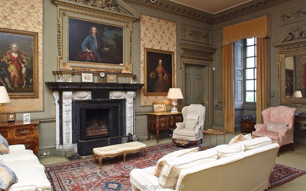 Sitting Room. Raynham Hall, Norfolk