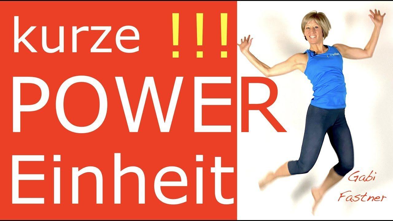 �15 min. Power-Workout für Deine Fitness und Figur | ohne Geräte |