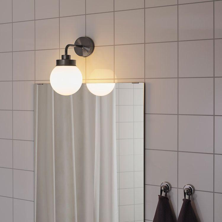FRIHULT Vägglampa, svart IKEA i 2020   Vägglampa, Ikea, Lampor
