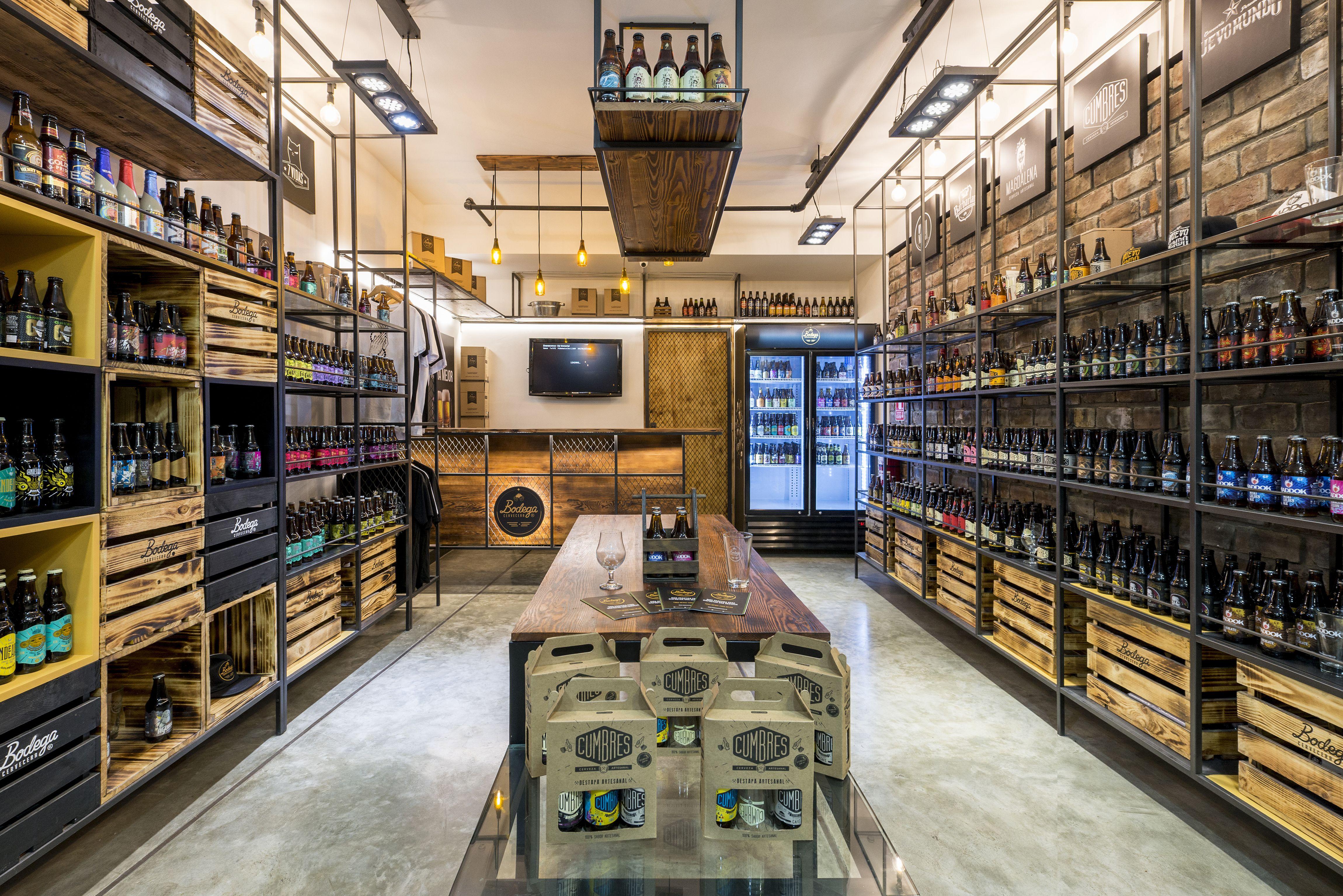 Craft Beer Store Residential Design Lima Peru Beer Store