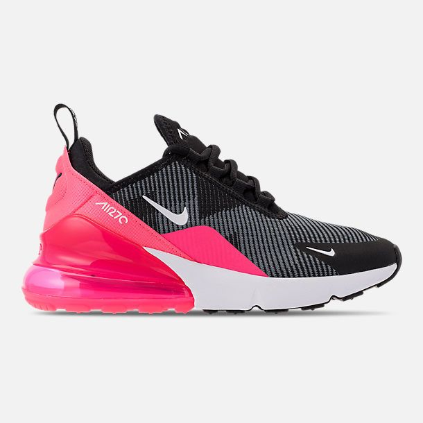 Black N White. Schools. Girls  Grade School Nike Air Max 270 KJCRD Casual  Shoes 51d9dd59f729