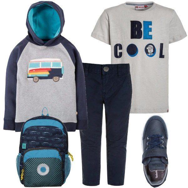 e comodo principali blu grigio versatile Outfit colori e i 8qd5ta